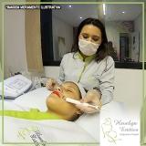 clinica de peeling esfoliante rosto Jardim Beatriz