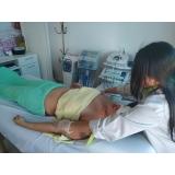 drenagem linfática na barriga