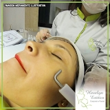 peeling para tratamento do rosto